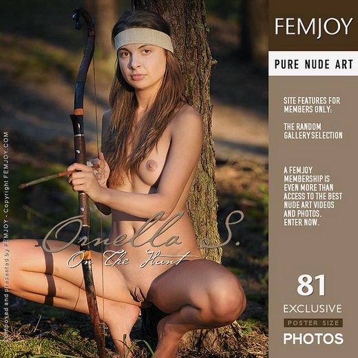 Ornella S - `On The Hunt` - by Terri Benson for FEMJOY