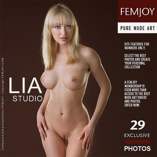 Lia - `Studio` - by Stefan Soell for FEMJOY