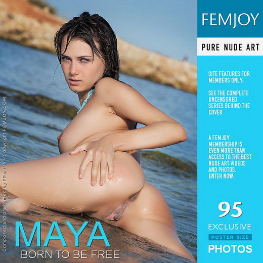 Maya - `Born To Be Free` - by Palmer for FEMJOY