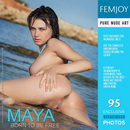 Maya in Born To Be Free gallery from FEMJOY by Palmer