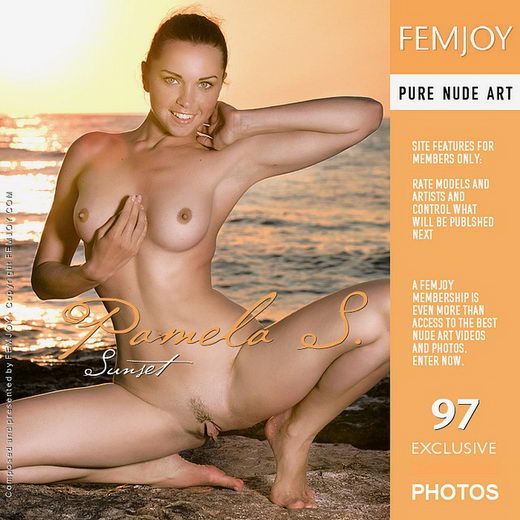 Pamela S - `Sunset` - by Palmer for FEMJOY