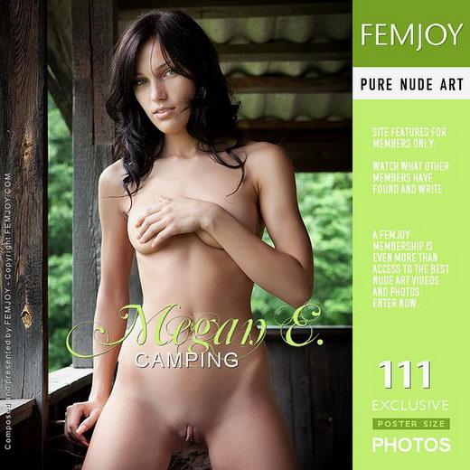 Megan E - `Camping` - by Tom Leonard for FEMJOY