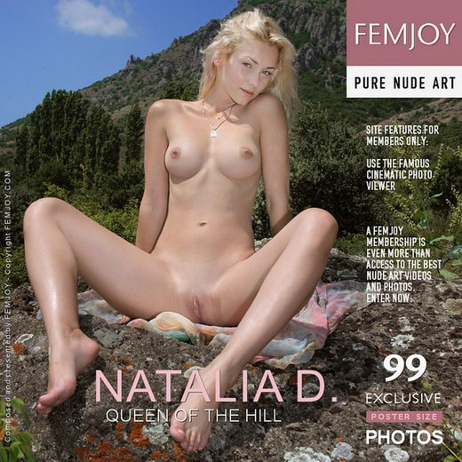 Natalia D - `Queen Of The Hill` - by Valery Anzilov for FEMJOY