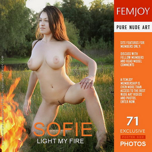 Sofie - `Light My Fire` - by Sven Wildhan for FEMJOY