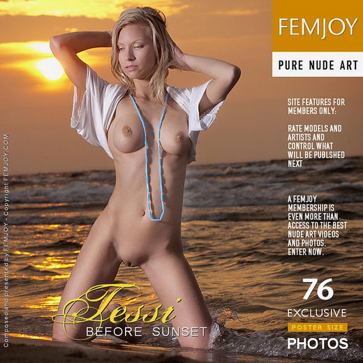 Tessi - `Before Sunset` - by Domingo for FEMJOY