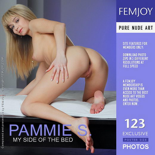 Pammie S - `My Side Of The Bed` - by Platonoff for FEMJOY