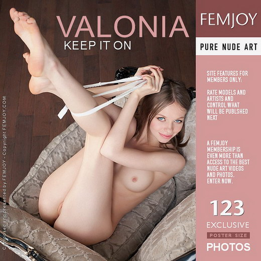 Valonia - `Keep It On` - by Kiselev for FEMJOY