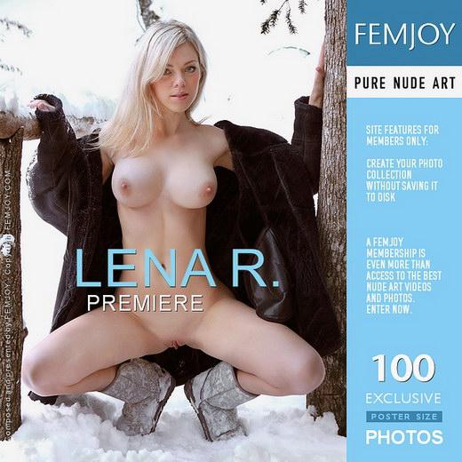 Lena R - `Premiere` - by Valery Anzilov for FEMJOY