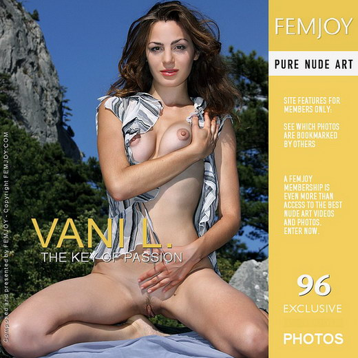 Vani L - `The Key Of Passion` - by Valery Anzilov for FEMJOY