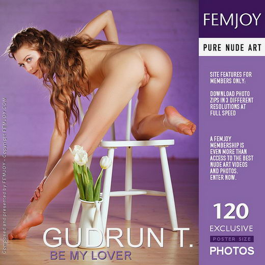 Gudrun T - `Be My Lover` - by Platonoff for FEMJOY