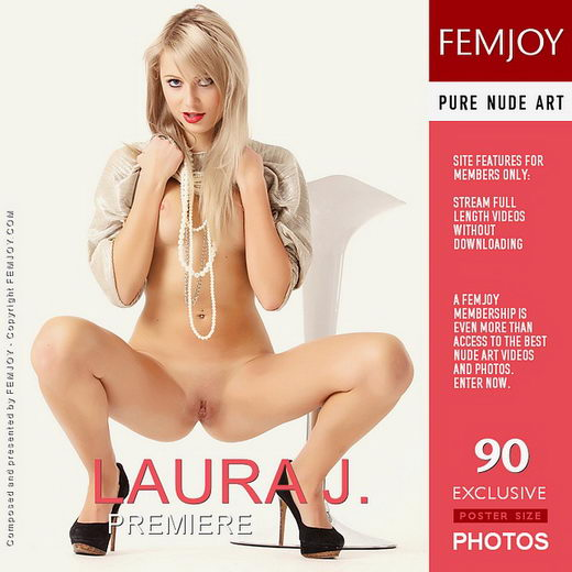 Laura J - `Premiere` - by Chris F for FEMJOY
