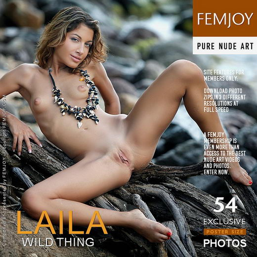 Laila - `Wild Thing` - by Tom Rodgers for FEMJOY