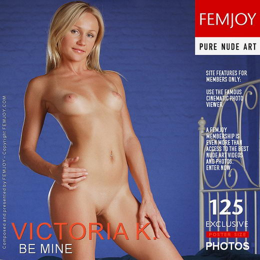 Victoria K - `Be Mine` - by Platonoff for FEMJOY