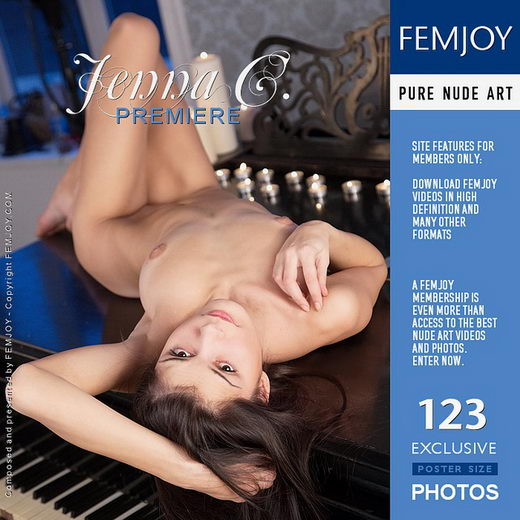 Jenna C - `Premiere` - by Palmer for FEMJOY