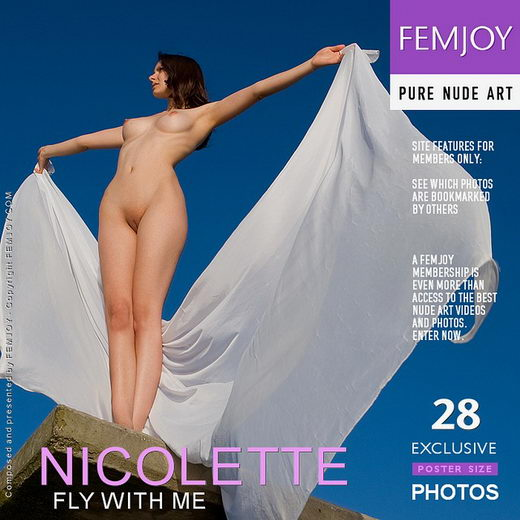 Nicolette - `Fly With Me` - by Stefan Soell for FEMJOY