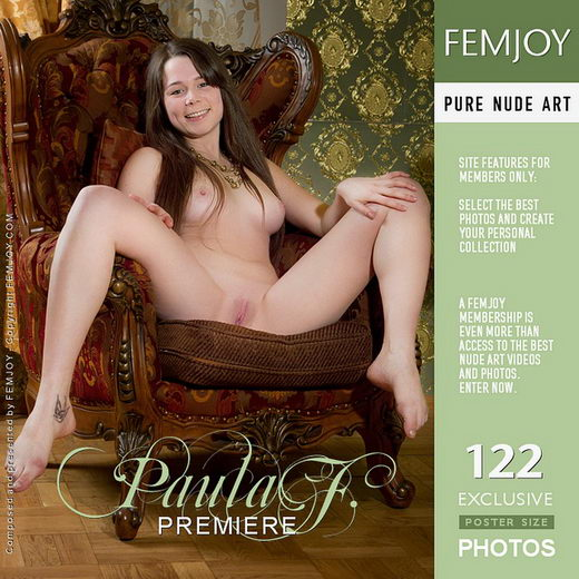 Paula F - `Premiere` - by Alexandr Petek for FEMJOY