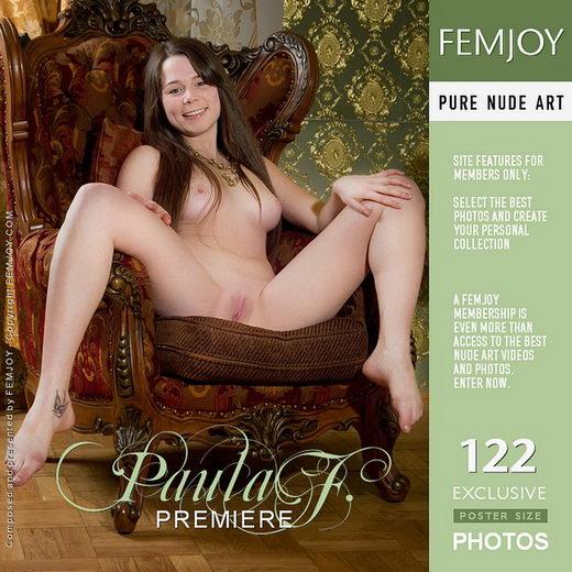 Paula F - `Premiere` - by Alexandr Petek for FEMJOY