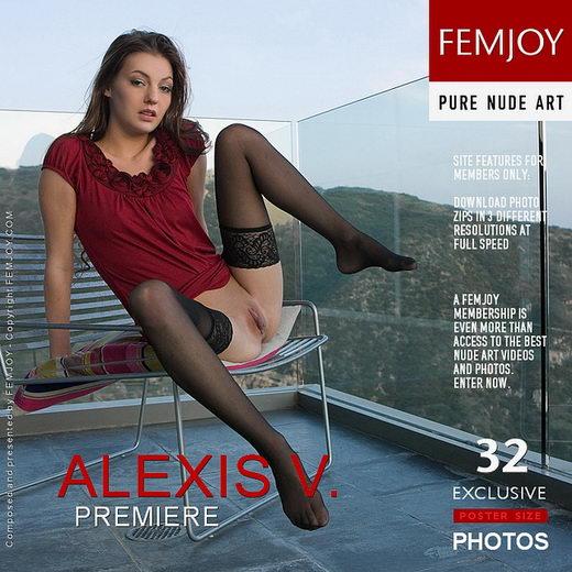Alexis V - `Premiere` - by Stefan Soell for FEMJOY