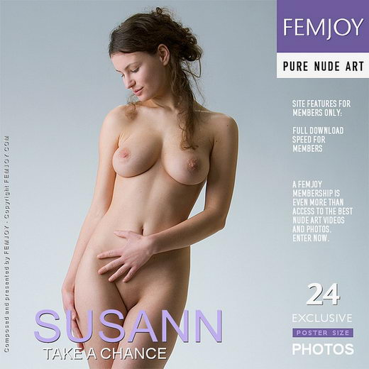 Susann - `Take a Chance` - by Stefan Soell for FEMJOY