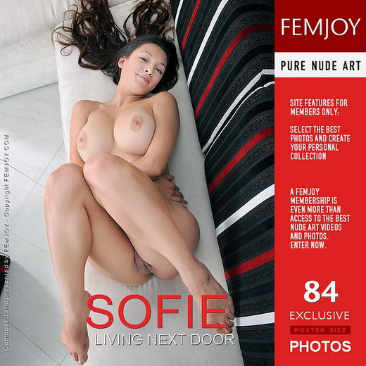 Sofie - `Living Next Door` - by Sven Wildhan for FEMJOY