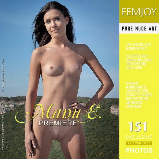 Manu E - `Premiere` - by Santiago Aztek for FEMJOY