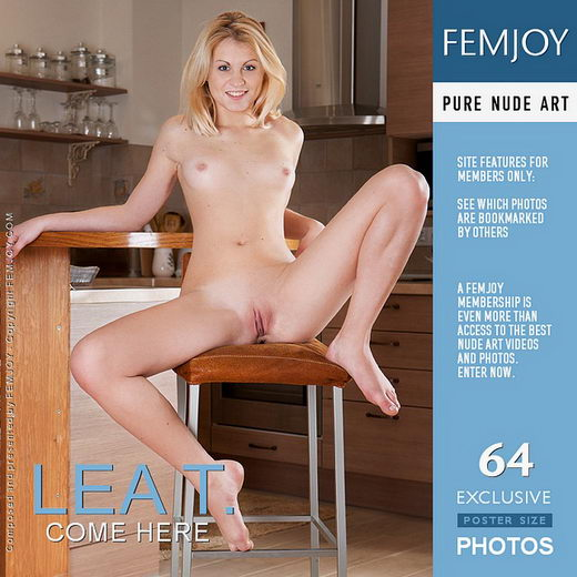 Lea T - `Come Here` - by Ulyana for FEMJOY