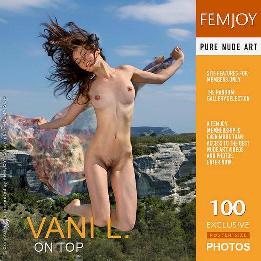 Vani L - `On Top` - by Valery Anzilov for FEMJOY