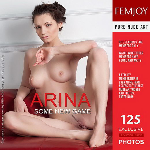 Arina - `Some New Game` - by Kiselev for FEMJOY