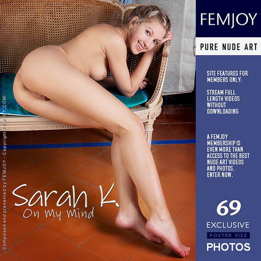Sarah K - `On My Mind` - by Ulyana for FEMJOY