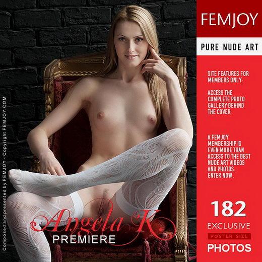 Angela K - `Premiere` - by Kiselev for FEMJOY