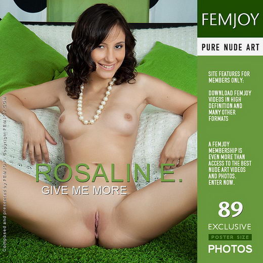 Rosalin E - `Give Me More` - by Ulyana for FEMJOY