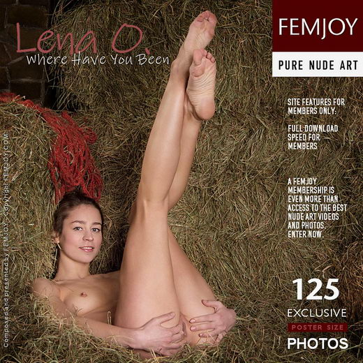 Lena O - `Where Have You Been` - by Alexandr Petek for FEMJOY