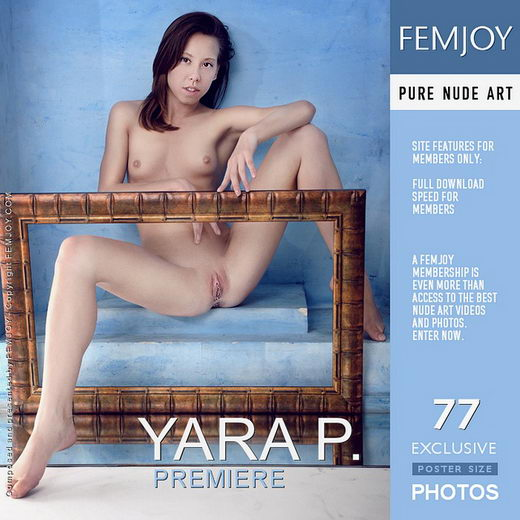 Yara P - `Premiere` - by Sven Wildhan for FEMJOY