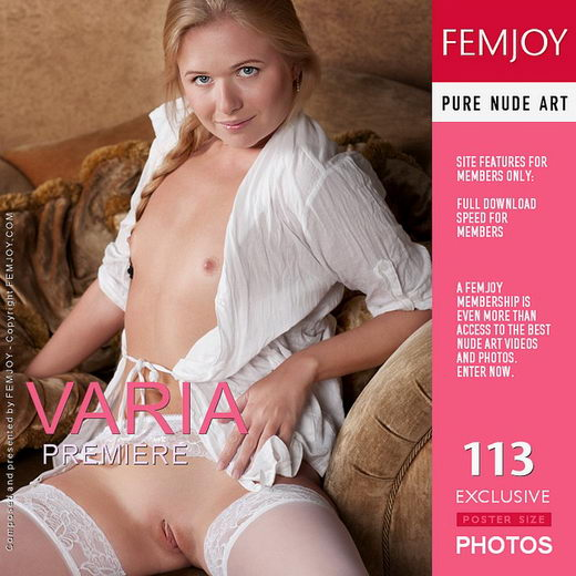 Varia - `Premiere` - by Kiselev for FEMJOY