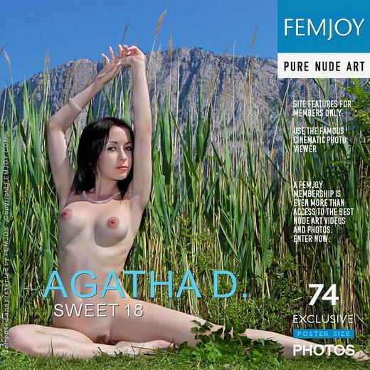 Agatha D - `Sweet 18` - by Valery Anzilov for FEMJOY