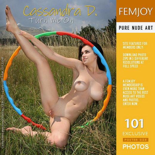 Cassandra D - `Turn Me On` - by Valery Anzilov for FEMJOY