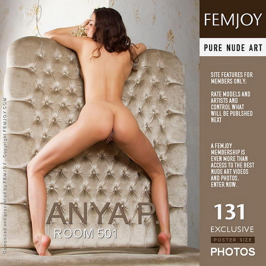 Anya P - `Room 501` - by Alexandr Petek for FEMJOY