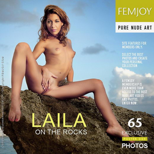 Laila - `On The Rocks` - by Tom Rodgers for FEMJOY