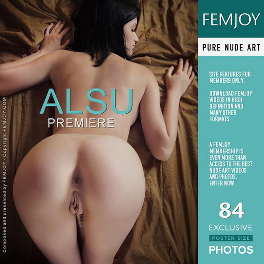 Alsu - `Premiere` - by Vaillo for FEMJOY