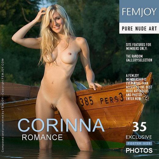 Corinna - `Romance` - by Stefan Soell for FEMJOY