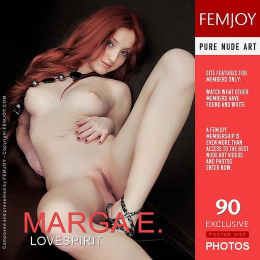 Marga E - `lovespirit` - by Vaillo for FEMJOY