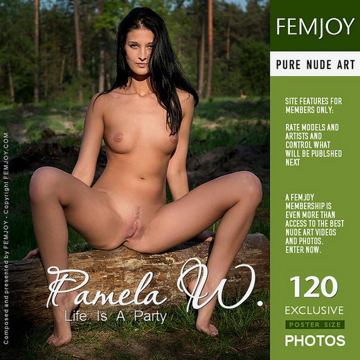 Pamela W - `Life Is A Party` - by Alexandr Petek for FEMJOY