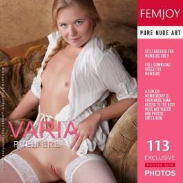 Varia  from FEMJOY