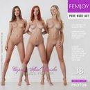Caprice & Ariel & Carisha in Friends Forever gallery from FEMJOY by Stefan Soell