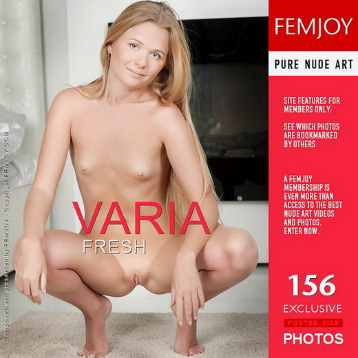 Varia - `Fresh` - by Kiselev for FEMJOY