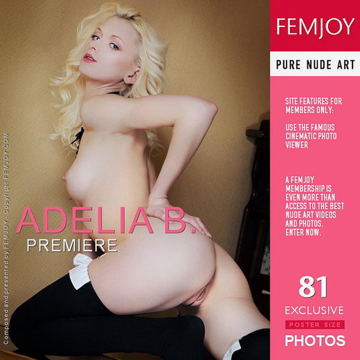 Adelia B - `Premiere` - by Vaillo for FEMJOY