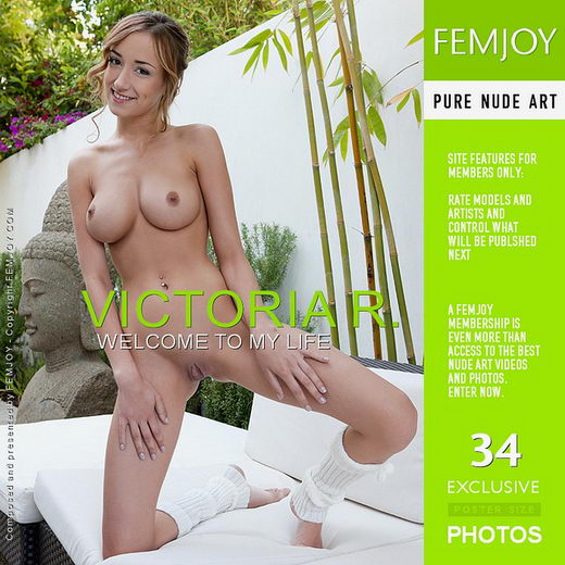 Victoria R - `Welcome To My Life` - by Stefan Soell for FEMJOY