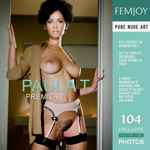Paula T - `Premiere` - by FEMJOY Exclusive for FEMJOY