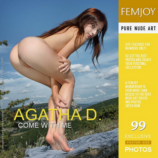 Agatha D - `Come With Me` - by Valery Anzilov for FEMJOY