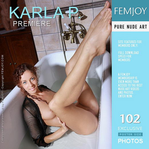 Karla P - `Premiere` - by Peter Olssen for FEMJOY